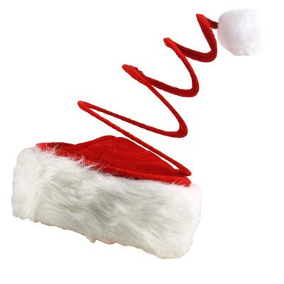 Spirale Weihnachtsmütze