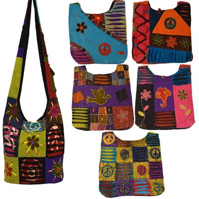Patchwork Taschen India Bag in verschiedenen Designs