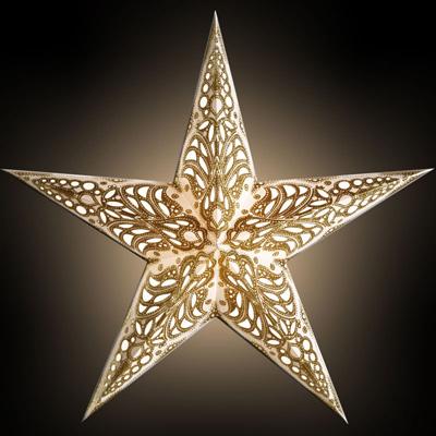 Starlightz Leuchtstern 5 Zack Geeta Gold Größe M NEU!