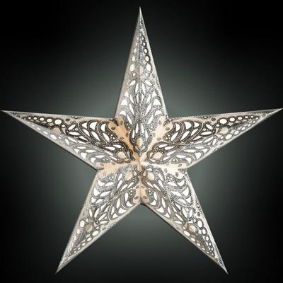 Starlightz Leuchtstern 5 Zack Geeta Silver Größe M NEU!
