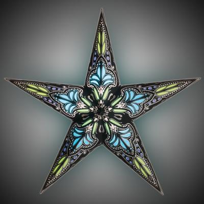 Starlightz Jaipur Small Black Turquoise